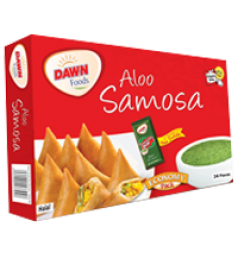 Dawn Aaloo Samosa Medium 480 Grams (24 Pieces)