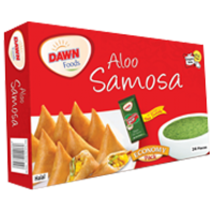 Dawn Aaloo Samosa Large 1 Kg (50 Pieces)