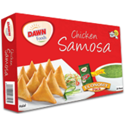 Dawn Chicken Samosa Regular 240 Grams (12 Pieces)
