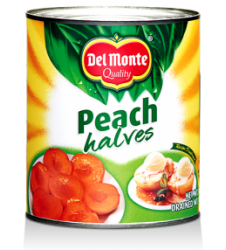 Del Monte Peach Halves (432gm)
