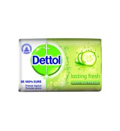 Dettol Antibacterial Lasting Fresh Bar Soap (100gm)