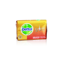 Dettol Gold Bar Soap Classic Clean (140gm)