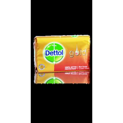 Dettol Gold Bar Soap Classic Clean (97gm)