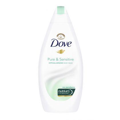 Dove Pure And Sensitive Body Wash (500ml)