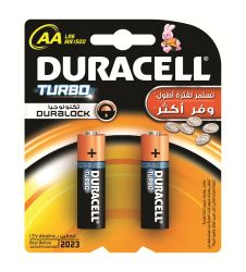 Duracell Turbo AA2