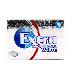 Extra Professional White Chewing Gum (Pack Of 10)