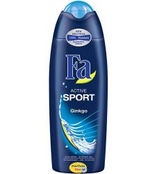 Fa Active Sport Shower Gel With Ginkgo (250ml)