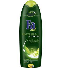 Fa Natural & Care White Grape & Jojoba Milk Moisturizing Shower Cream (250ml)