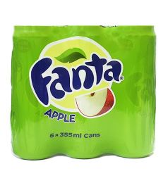 Fanta Apple Can (6x355ml)