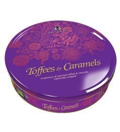 Foley & Court Toffee Colorful Tin Purple (800gm)