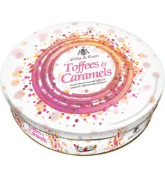 Foley & Court Toffee Colorful Tin White (800gm)