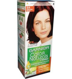 Garnier Color Naturals No. 3.6 (deep Red Brown)