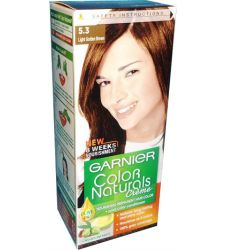 Garnier Color Naturals No. 5.3 (light Golden Brown)