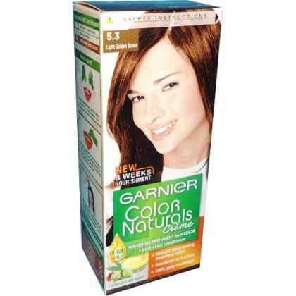 Garnier Color Naturals No. 5.3 (light Golden Brown)