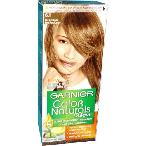 Garnier Color Naturals No 61 Dark Ash Blonde  Hair Color Amp Dye  Gom