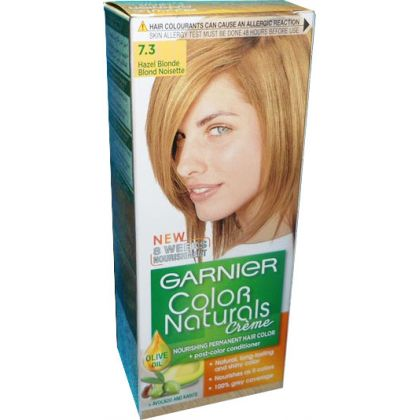 garnier color naturals no 7 3 hazel blonde hair color