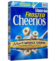 General Mills Cheerios Frosted Cereal (340gm)