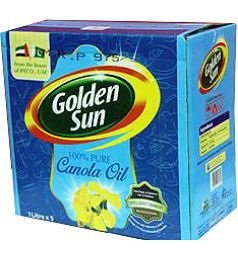 Golden Sun Canola Oil (1x5Ltr)