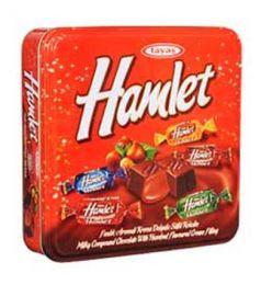 Hamlet (Red) Square Tin Box (700gm)