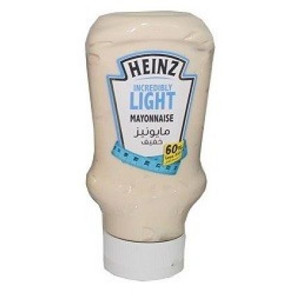 Heinz Incredibly Light Mayonnaise 60 Less Fat (400ml)