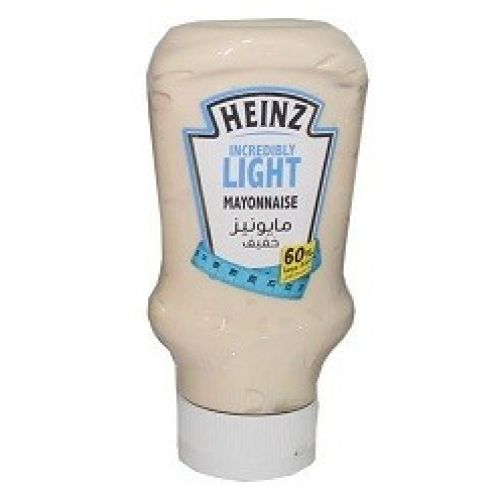 Heinz Incredibly Light Mayonnaise 60% Less Fat (400ml ...