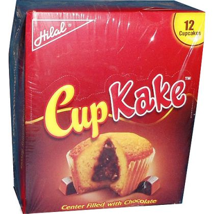 Hilal CupKake Chocolate 12x25gms