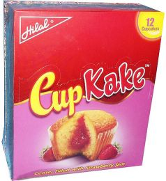 Hilal CupKake Strawberry 12x25gms
