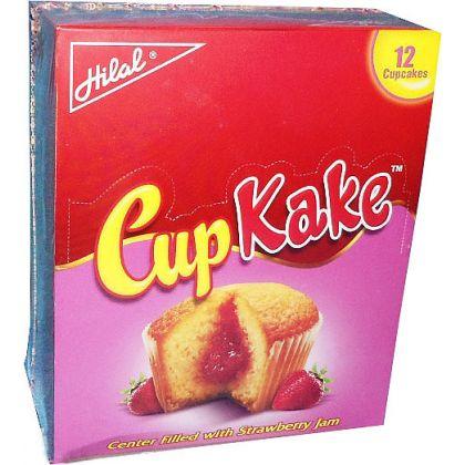 Hilal CupKake Strawberry 12x25gms