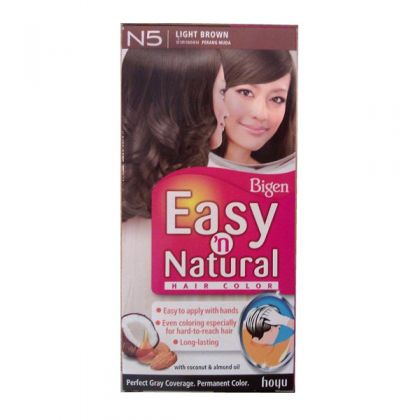 Bigen Light Brown Hair Colour N5