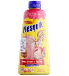 Nestle Nesquik Strawberry Syrup (623gm)