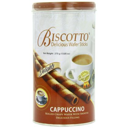Biscotto Cappuccino Wafer Stick (370gm)