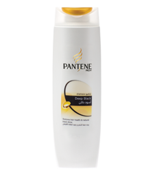 Pantene Pro-v Deep Black Shampoo (400ml)