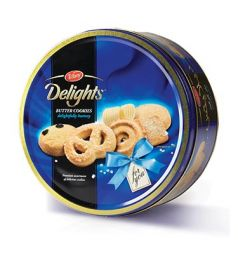 Tiffany Delights Butter Cookies Tub