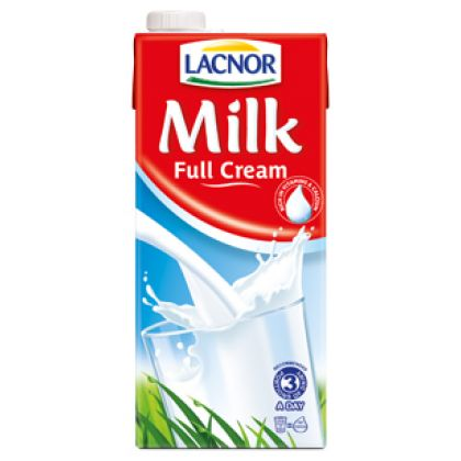 Lacnor Full Cream Milk (1ltr)