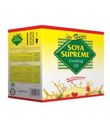 Soya Supreme Cooking Oil (1Ltr X 5)