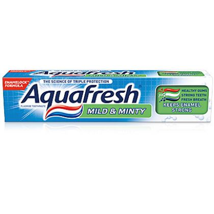 Aqua Fresh Mild & Minty Toothpaste (50ml)