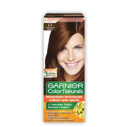 Garnier Color Naturals No. 4.3 (golden Brown)