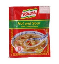 Knorr Instant Soup - Hot N Sour (50G)