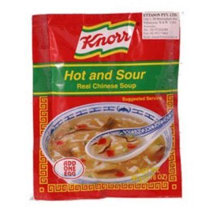 Knorr Instant Soup - Hot N Sour (50G)