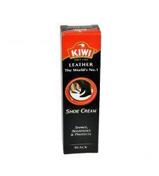 KIWI SHOE CREAM TUBE BLACK (50G)