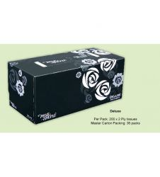 ROSE PETAL DELUXE FACIAL TISSUES (200s)