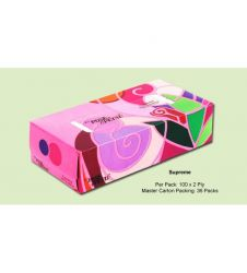 ROSE PETAL SUPREME FACIAL TISSUES (100s)