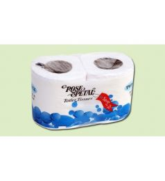 ROSE PETAL TWIN TOILET ROLL (BIGGER)