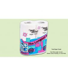 ROSE PETAL KITCHEN TWIN ROLL