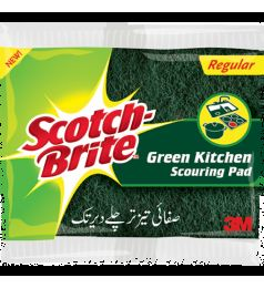 SCOTCH BRITE GREEN KITCHEN SCOURING PAD