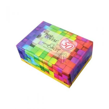 ROSE PETAL POP UP TISSUE BOX - SMART(80s)