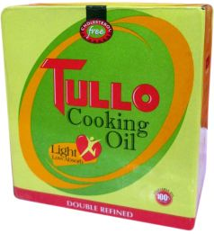 Tullo Cooking Oil - (1Ltr X 5)