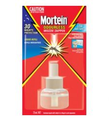 MORTEIN POWERGARD REFILL - ODOURLESS (45ML)