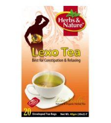 Lexo Tea - 20 Sachet Box (40G)