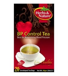 Bp Control Tea - 20 Sachet Box (40G)